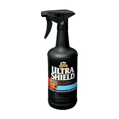 Absorbine Ultra Shield Black mit Sprüher Fliegenspray Stallspray 946 ml